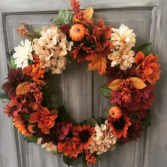 Can't believe it's #fall already!!  Wreath