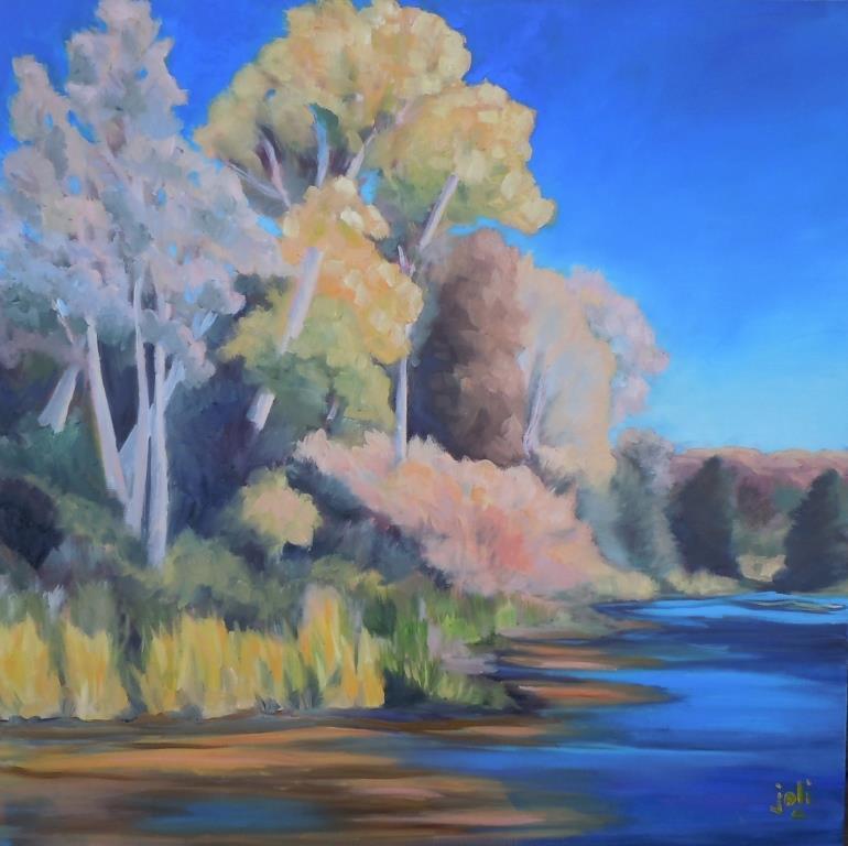 Along Oak Creek