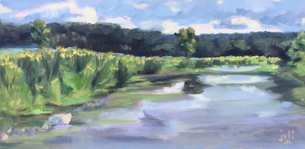 Goldenrods, Riverstone