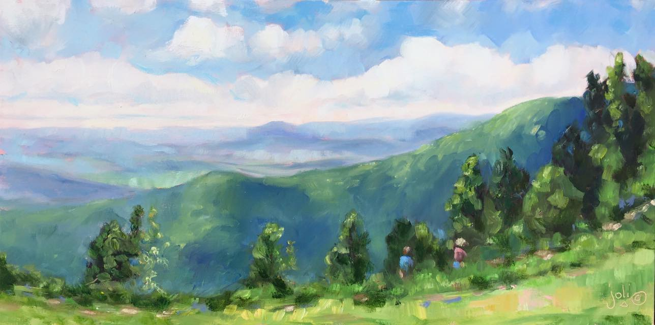 Along The Trail, Rocky Knob