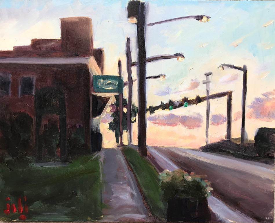 Sundown At The Corner