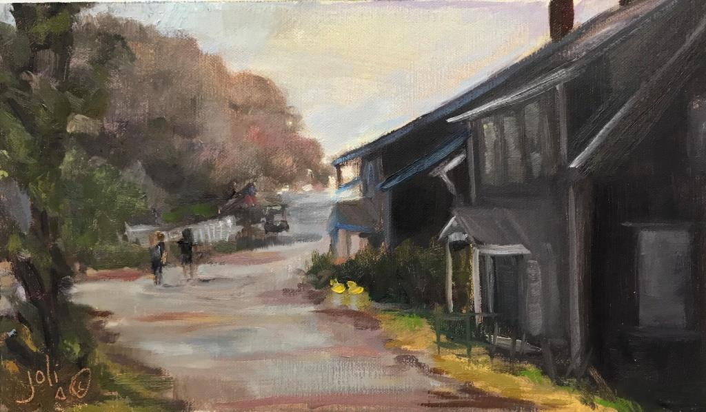 Morning Walk In The Village