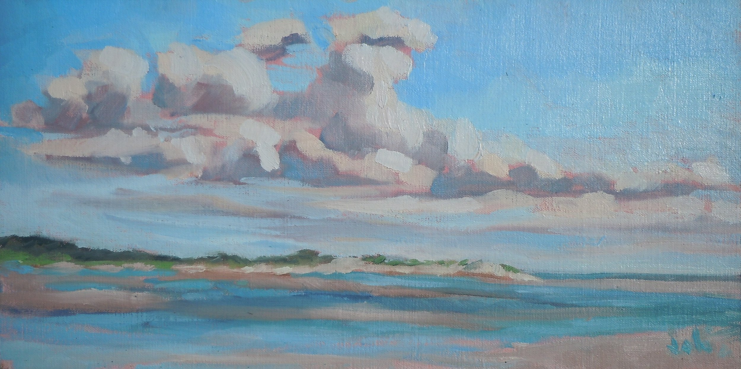 Clouds Over Crane