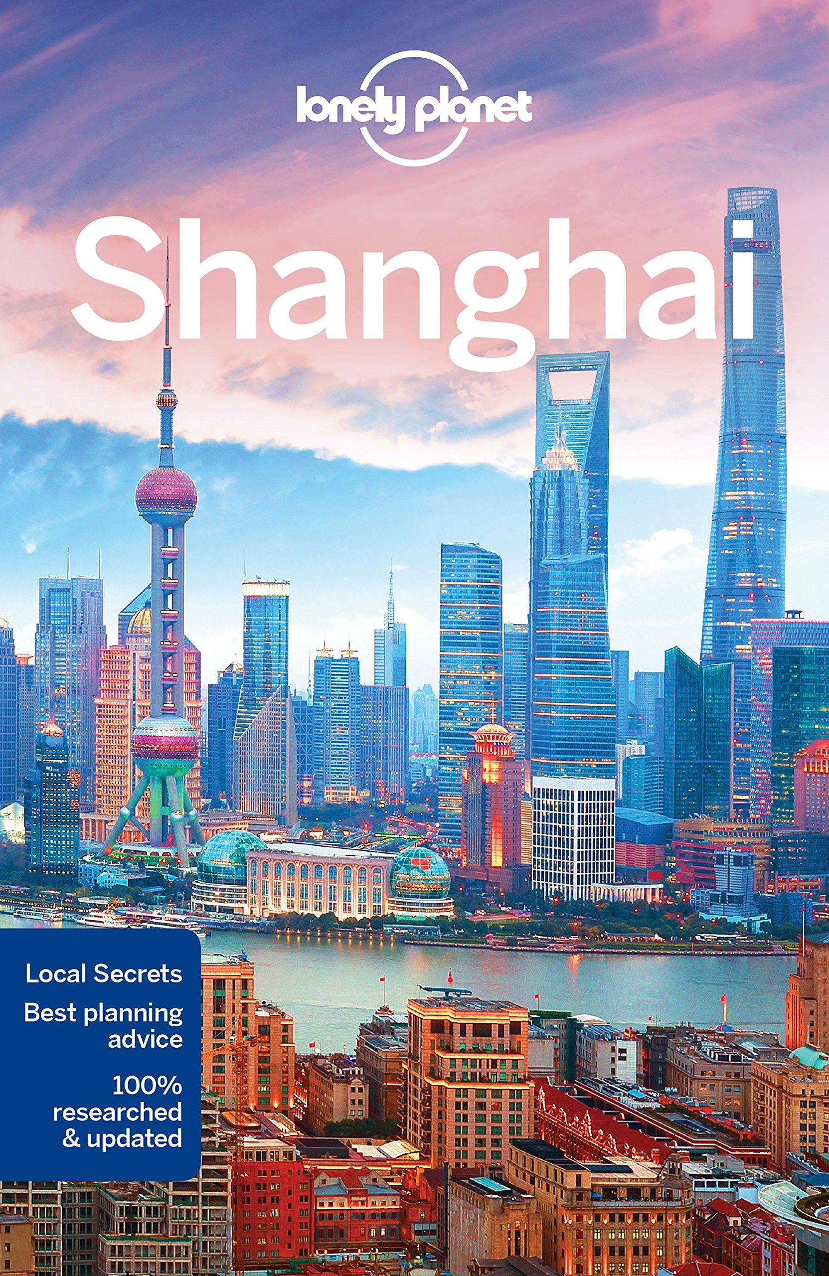 Shanghai Lonely Planet cover
