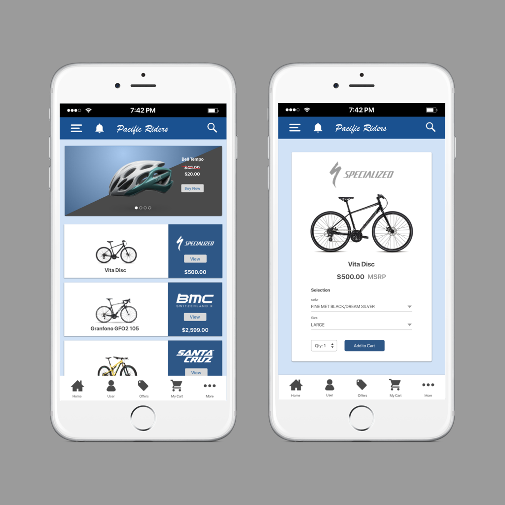 Bicycle e-commerce website -Concept Piece   Bicycle e-commerce allows you to view bikes close up