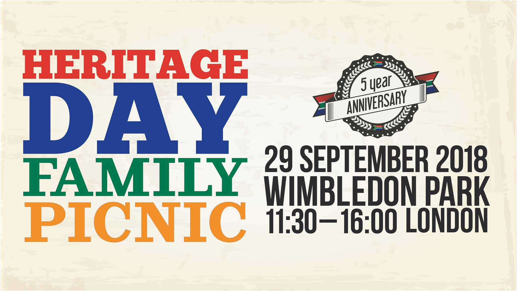 South African Heritage Day Family Picnic London