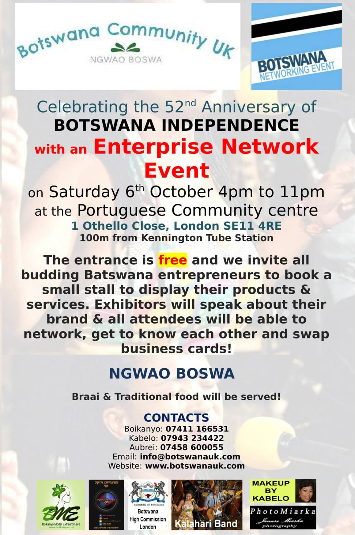 Botswana Network Event in London Celebrating 52 Years of Independence