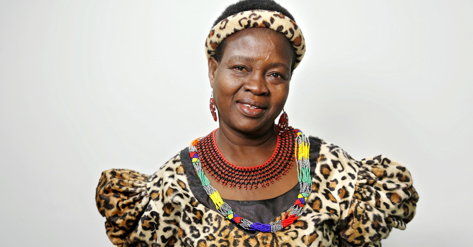 Chief Theresa Kachindamoto of Dedza District in Central Malawi