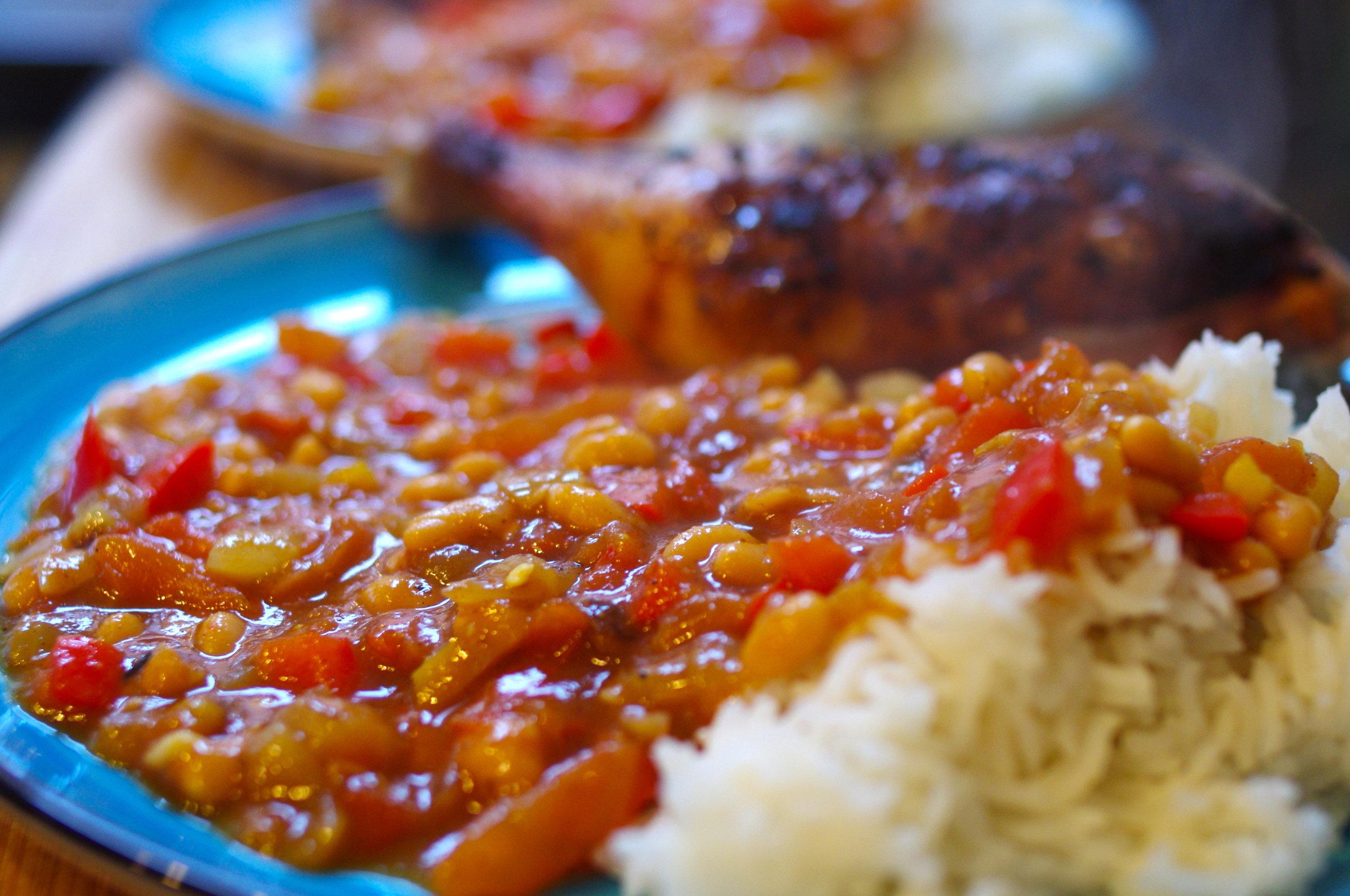 Traditional South African Chakalaka Recipe For Braai