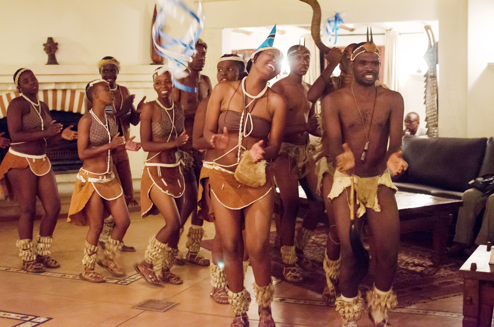 Setapa Traditional Dance from Botswana - Taste of Southern Africa