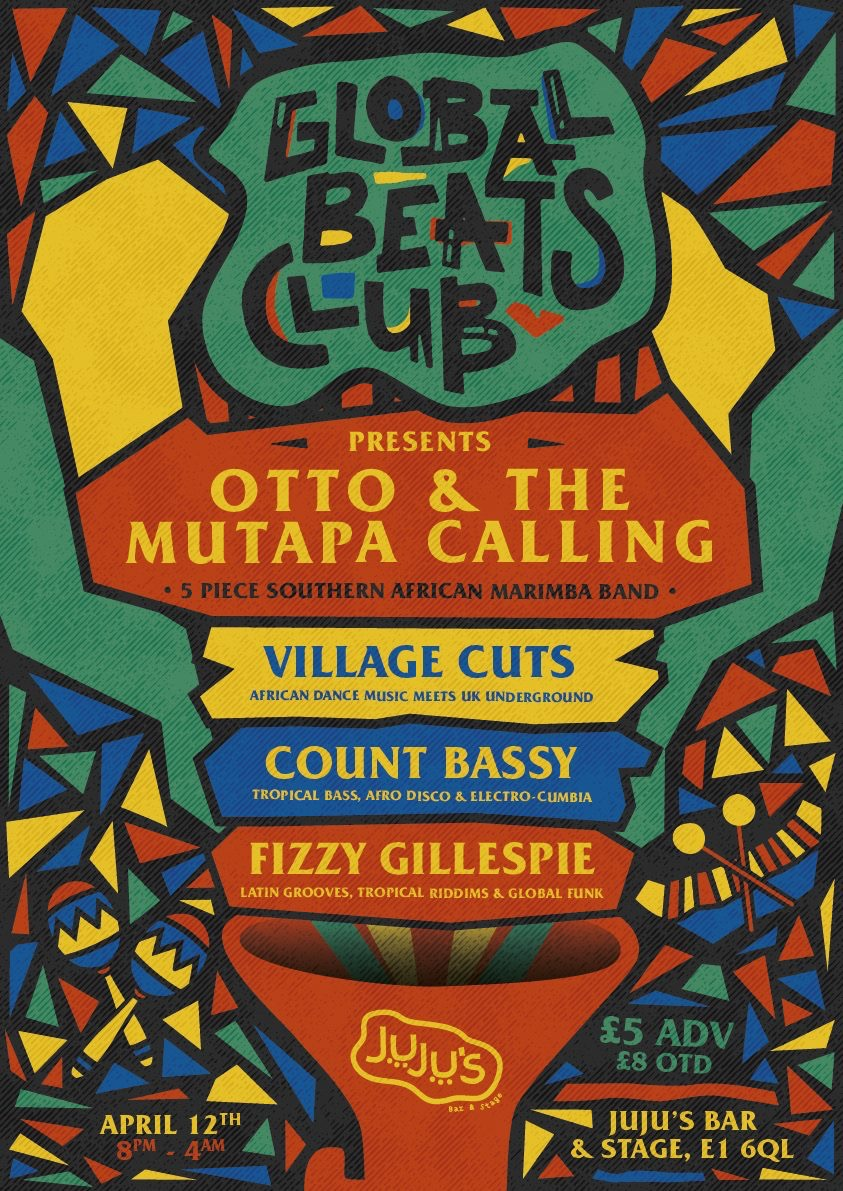 Otto And The Mutapa Calling Live At Jujus Bar And Stage