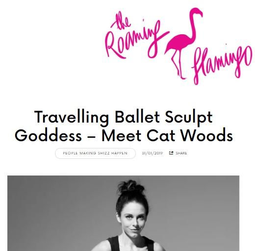 Profile in  The Roaming Flamingo  regarding Sculpt and the freelance life