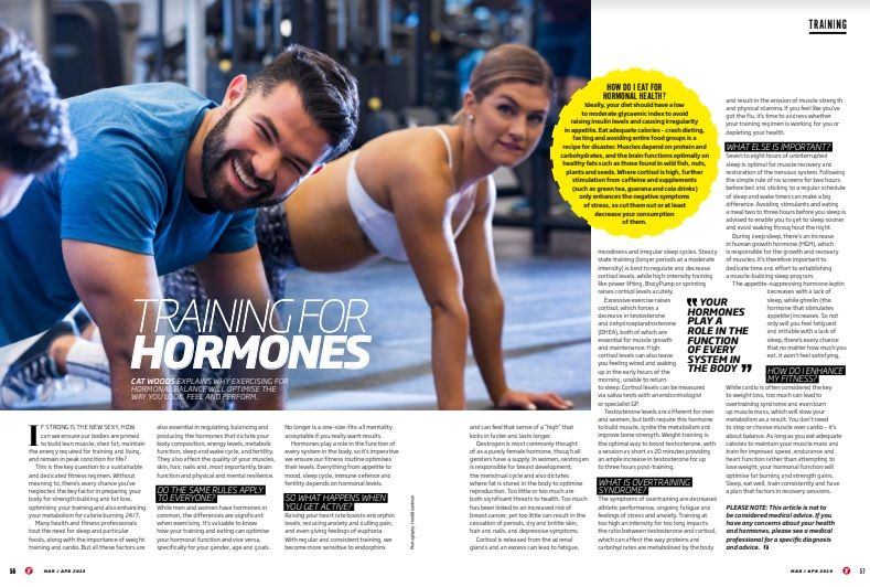 Training for Hormonal Health
