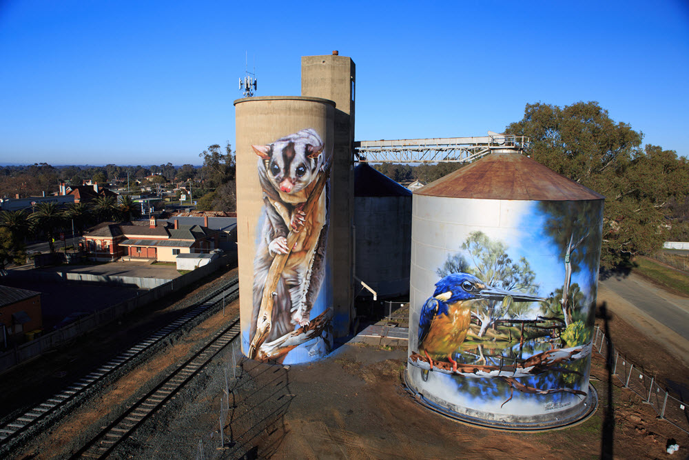 Grenfell the latest in silo art