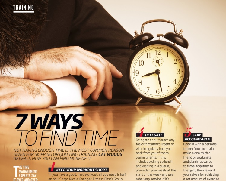 7 Ways To Find Time