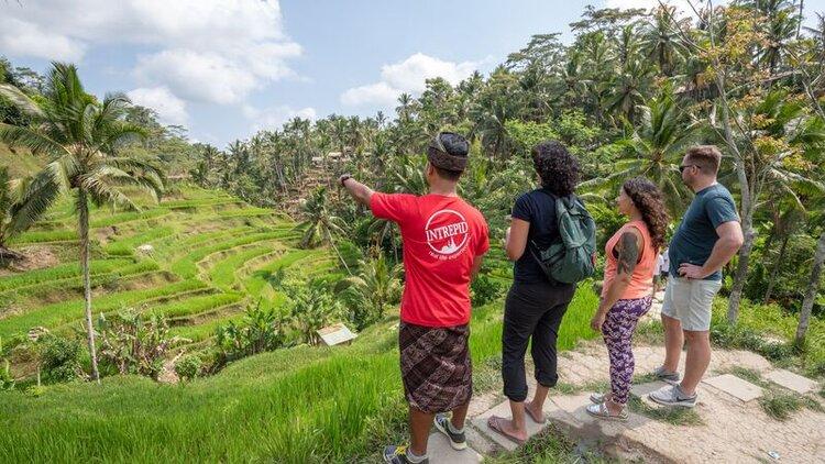 Bali where to eat, yoga and walk