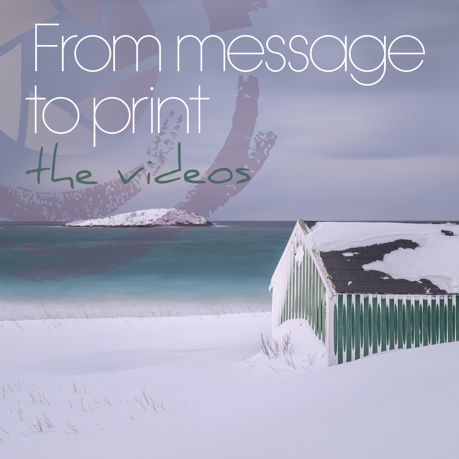 14 to 16. FROM MESSAGE TO PRINT - VIDEO CONTENT