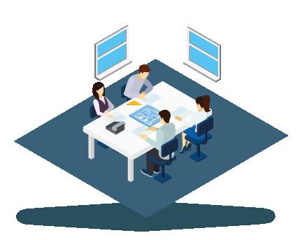 4. WELSTANDS- EN VERGUNNINGAANVRAAG - Nadat de contractstukken zijn ondertekend worden eerst de tekeningen klaar gemaakt om in te dienen bij welstand. Eventuele aanpassingen, als gevolg van welstand, worden besproken bij de eerste werkbespreking met de verkoper en de projectleider. Tijdens de werkbespreking worden een aantal zaken betreffende de uitvoering van de woning besproken, materialen worden uitgezocht en vastgesteld. Tevens is dit ook een overdrachtsmoment en vanaf de werkbespreking is de projectleider je aanspreekpunt. Naar aanleiding van de bespreking en de beoordeling van welstand, worden eventuele wijzigingen doorgevoerd in het plan. Na de beoordeling wordt de omgevingsvergunning aangevraagd. Wanneer dit ingediend is, wordt het woningborgcertificaat aangevraagd voor de woning. Dit welstands- en vergunningstraject traject duurt ongeveer 20 weken.