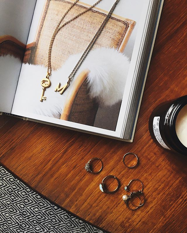 Hygge your house, and your jewellery collection. Necklaces by danish brand, @bybiehl #gifted