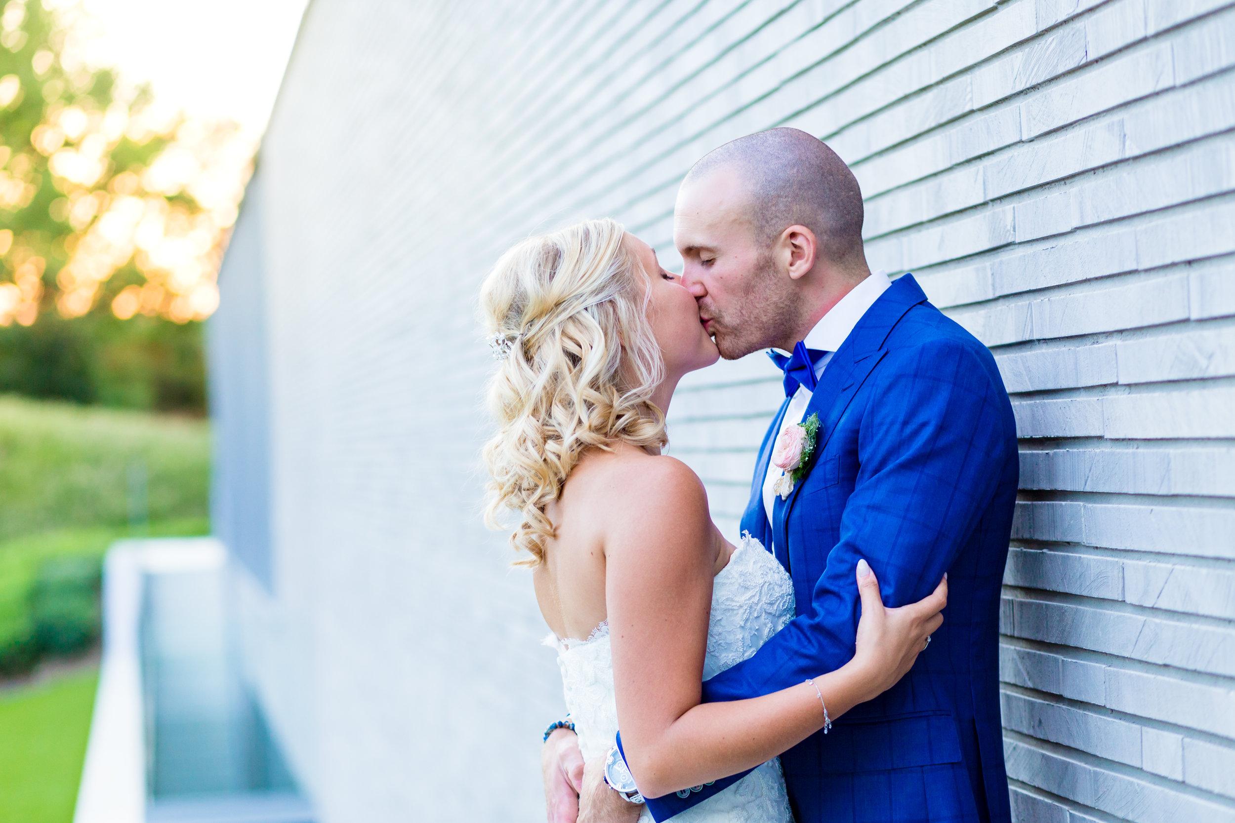 Zonsondergang koppel shoot huwelijk