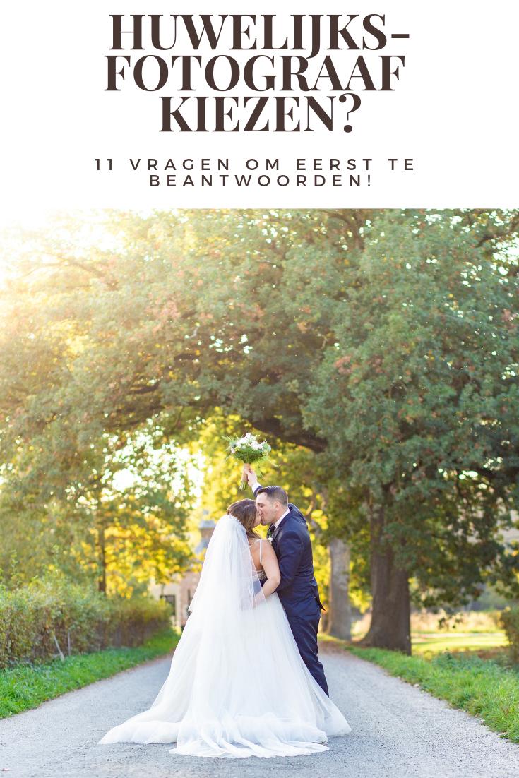 Huwelijksfotograaf kiezen!