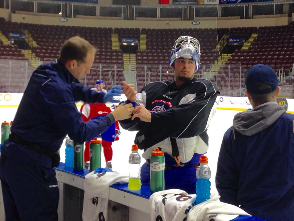 Glen Kinney - Athletic Therapist with the Laval Rockets (AHL Hockey)