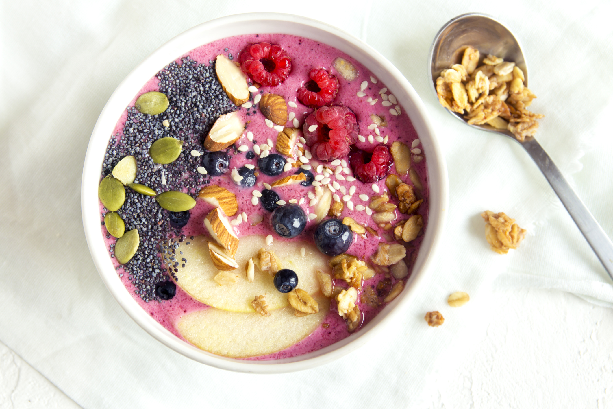 Smoothie Bowl - a perfect breakfast or snack!