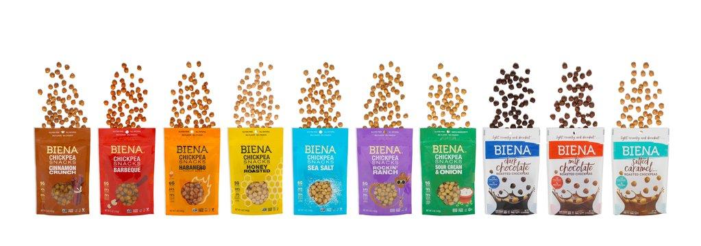 Crunchy and delicious Biena Snacks