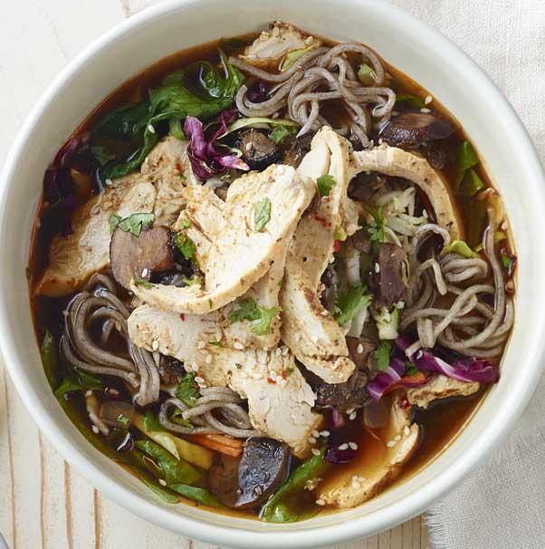Panera Soba Noodle Chicken Bowl