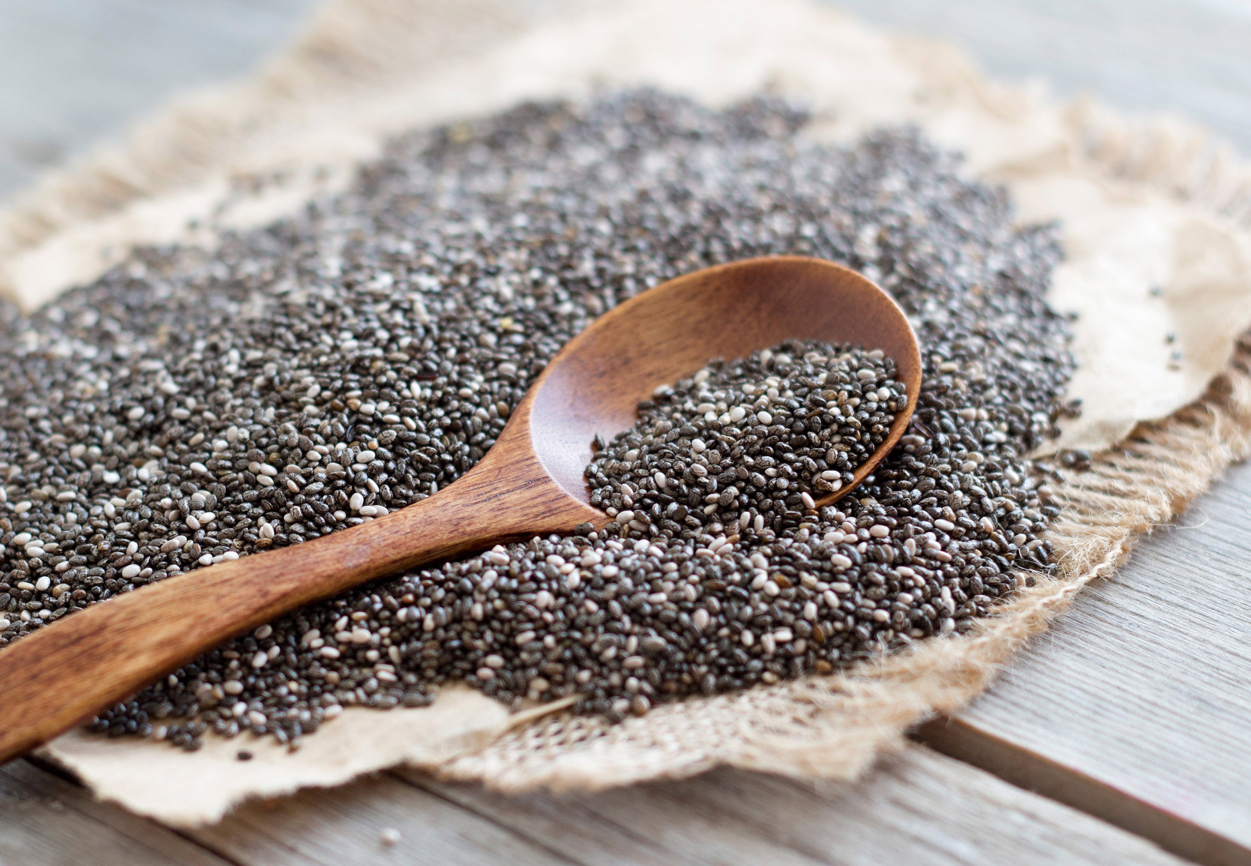 Chia Seeds (Image Source: Getty Images)