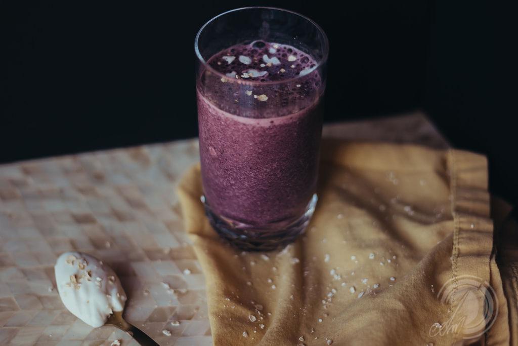 Green Blueberry Shake - photo credit:  Samantha N Moon