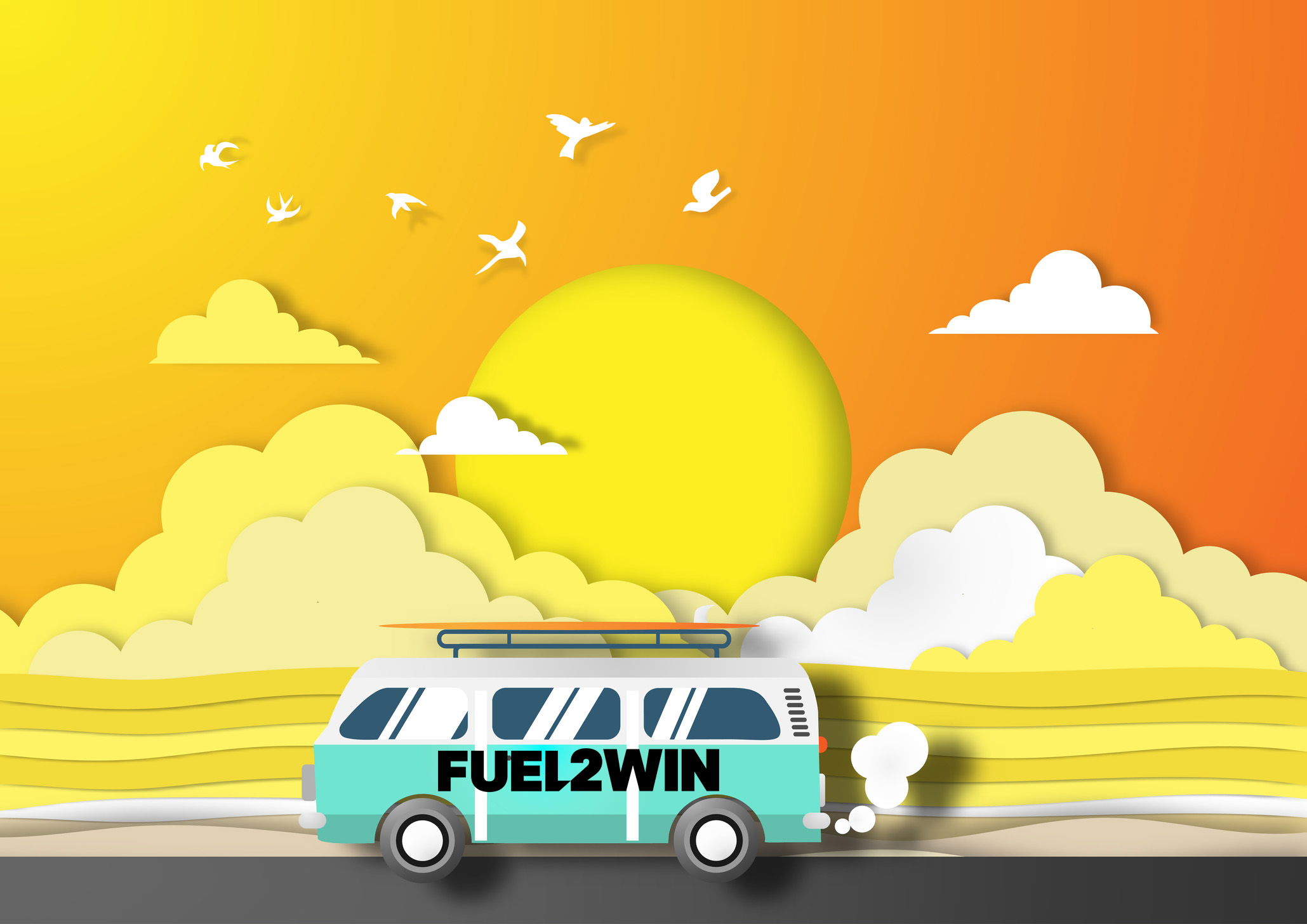 Fuel to Win even when you are on the go!