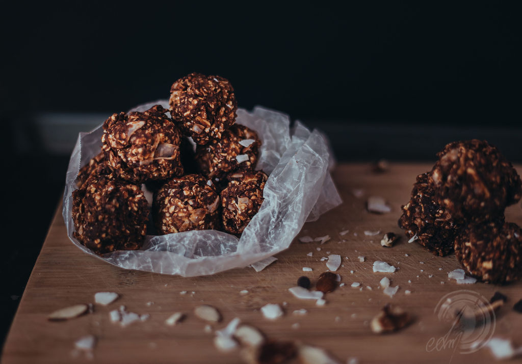 Almond Joy Bites - Photo Credit:  Samantha N Moon Photography