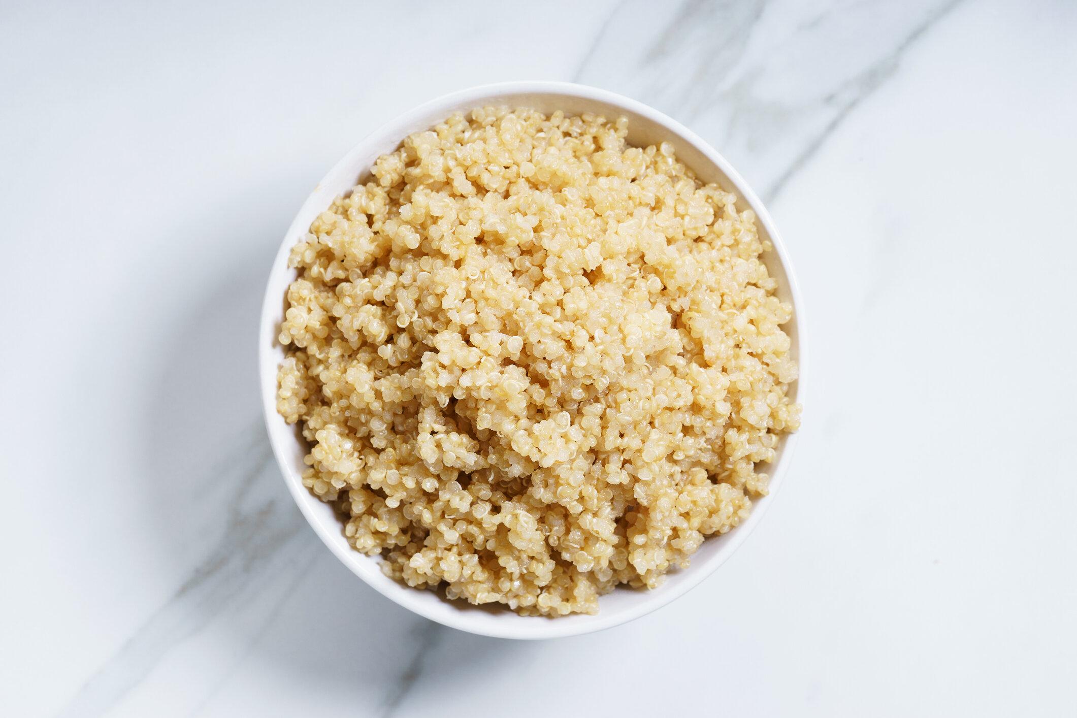Quinoa - 6 grams protein per cup