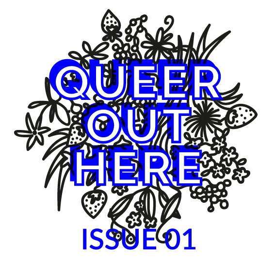 Issue 01 Cover by Emma Charleston