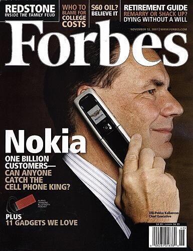 Forbes, November 2007