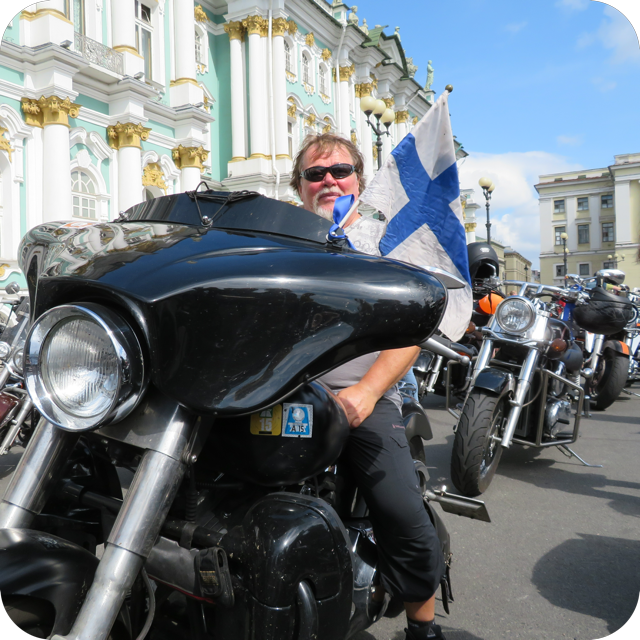 Nils Rinne - Harley Davidson man to the bone!