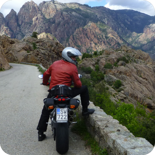 Motorcycle tours Europe!