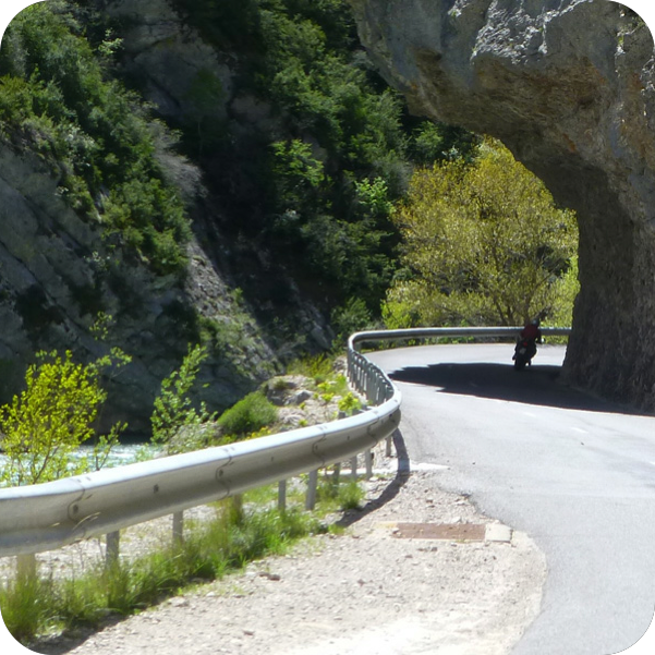 Best roads of Mediterranean Alps!