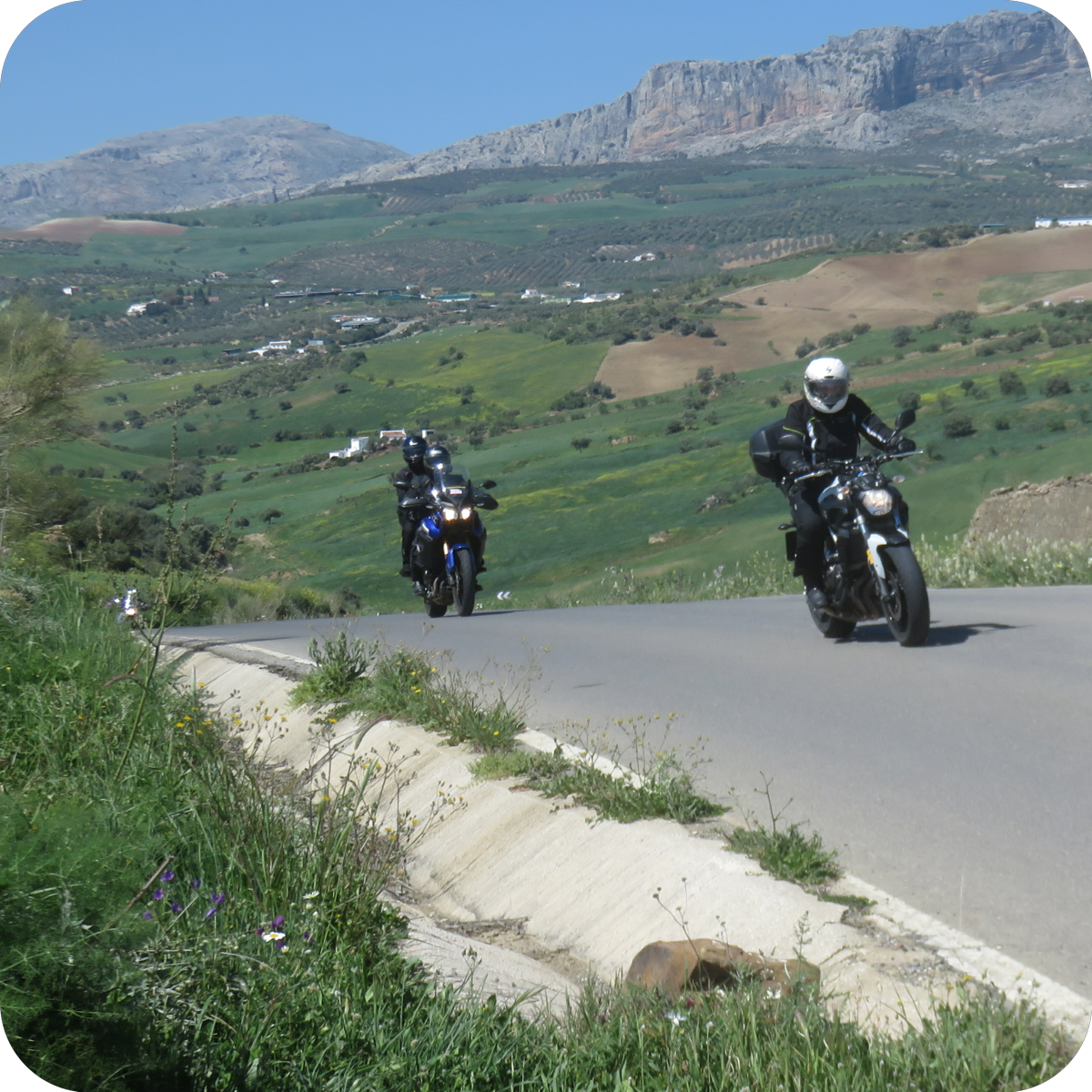 Best motorcycle roads - Andalucia!