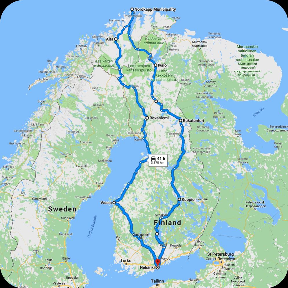 Nordkapp map!