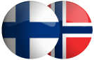 Flag of Finland and Norway