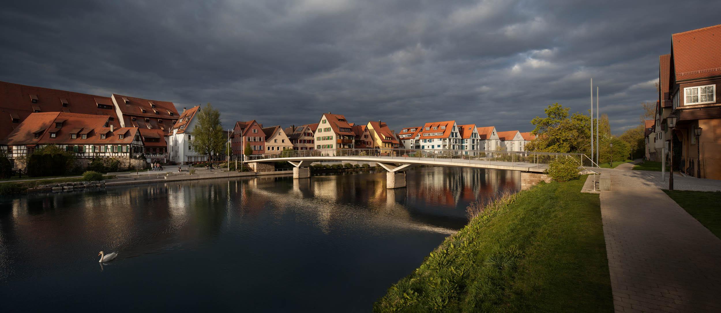 'Josef-Eberle-Brücke' in Rottenburg am Neckar