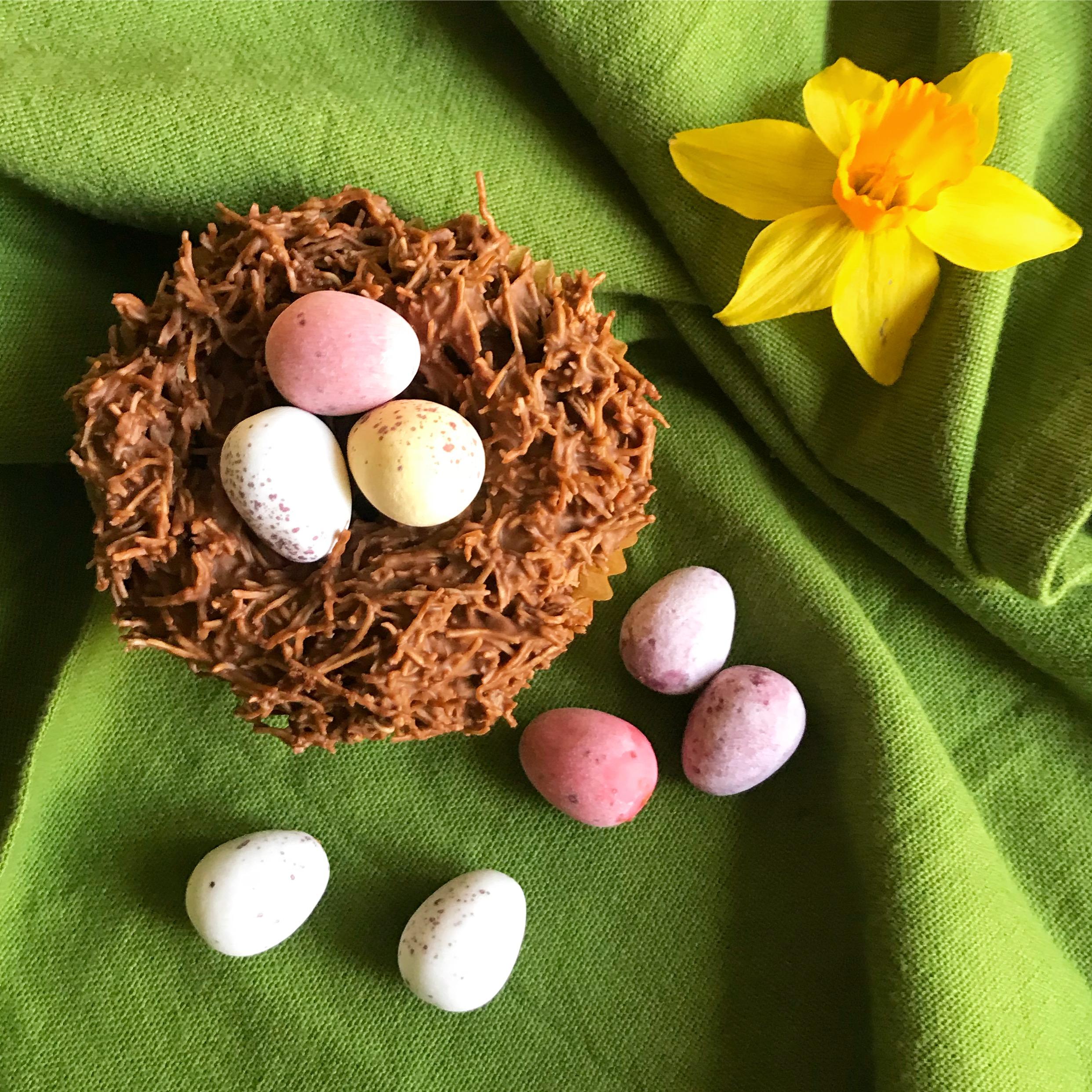 Easter Nest Cupcake
