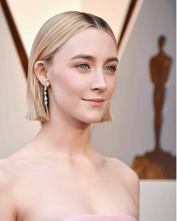 Saoirse Ronan - by @hairbyadir on Instagram
