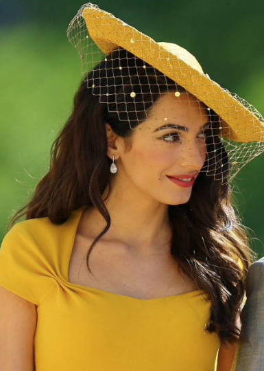 Amal Clooney - Amal was amongst a select few celebs invited to the ceremoney, she looked radiant with soft waves and curls! Amal and her hairstylist Rod Ortega are massive fans and users of the Ibiza Hair brushes.