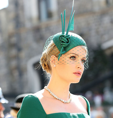 Kitty Spencer - Princess Diana's niece Kitty looked like the picture of elegance with an ornate upstyle.