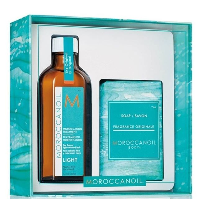 Moroccanoil Treatment Original & Light Oil 100ml with Free Soap €39.99 #freegift #shopirish #onlineshopping #nowavailable 💙💙💙