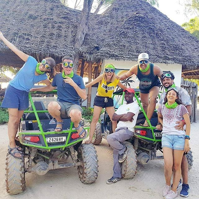 When we have a group of dancers on our trip you wouldn't be surprised they even used our buggies as their dance floor 😍😘 . . #Tanzania #zanzibar #nungwi #nungwibeach #islandholiday #extremeholiday #beachholiday #funwithfriends #fun #funtimes #funwithkids #familyholiday #springbreak #utv #offroad #offroading #dirt #motorsports #eastAfrica #africa