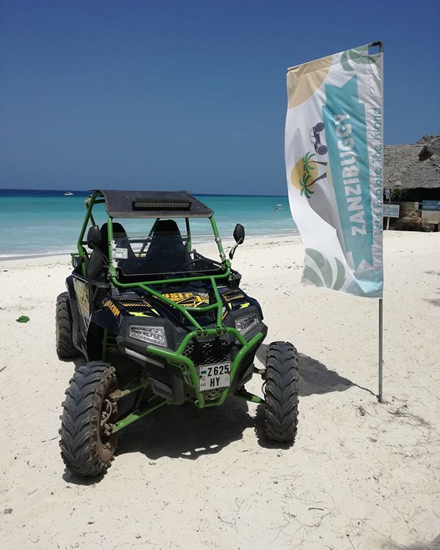 It's sooooo hot that even our buggies are going to the beach ! 🌴🌵🐚❤🏖 . . . #zanzibar #zanzibarisland #nungwi #nungwibeach #beachholiday #beach #vacation #extreme #wanderlust #utv #offroad #buggy #ocean #sea #friends #fun #familyholiday #kids #familyfun #offroading #beachbuggy #Africa #Tanzania #eastafrica #culturetour #extremeholiday #island #holidaygoals
